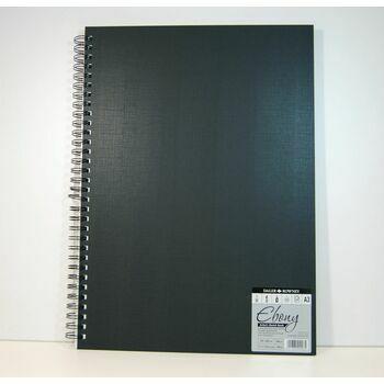 Ebony Artists A3 Sketchbook (Portrait)