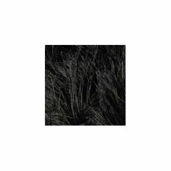 James C Brett Faux Fur - Black - H10 (100g)