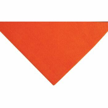Trimits Acrylic Felt - Orange (23cm x 30cm)