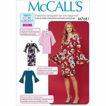 McCalls pattern M7681