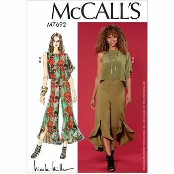 McCalls pattern M7692