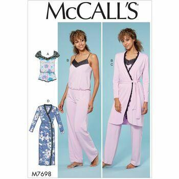 McCalls pattern M7698