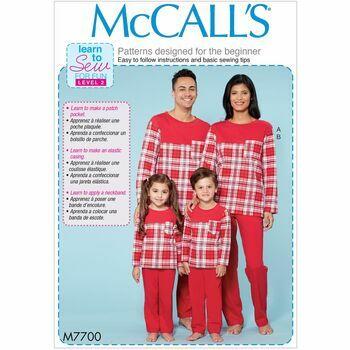 McCalls pattern M7700