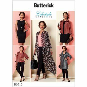 Butterick pattern B6516