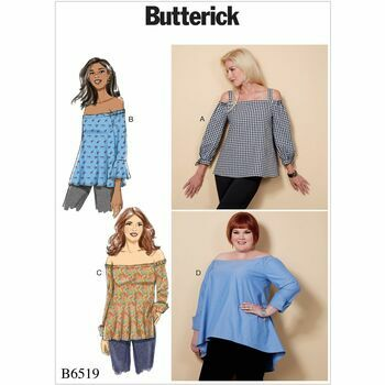 Butterick pattern B6519