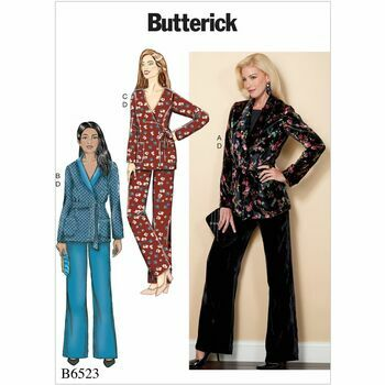 Butterick pattern B6523