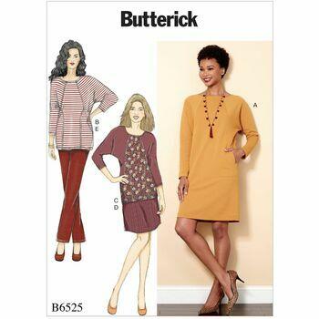 Butterick pattern B6525