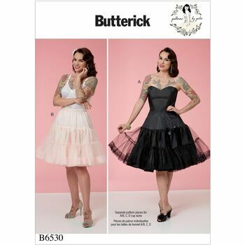 Butterick pattern B6530