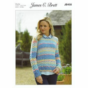 James C Brett Pattern Chunky JB450
