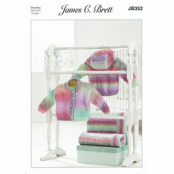 James C Brett Pattern Chunky JB352