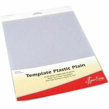 Sew Easy Template Plastic Plain