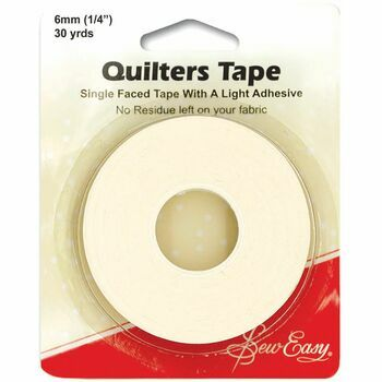 Sew Easy Quilters Tape (27m x 6mm)