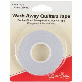 Sew Easy Wash Away Quilters Tape (10m x 8mm)