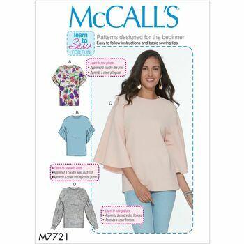 McCalls pattern M7721