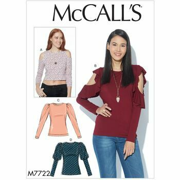 McCalls pattern M7722