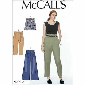 McCalls pattern M7726
