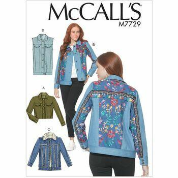 McCalls pattern M7729