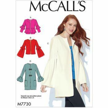 McCalls pattern M7730
