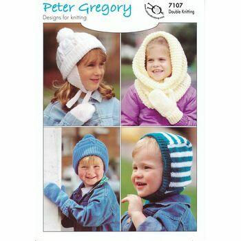 UKHKA Peter Gregory DK (7107) - Children\'s Hats and Mitts