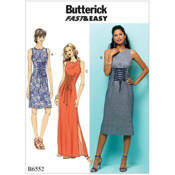 Butterick pattern B6552