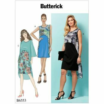 Butterick pattern B6553