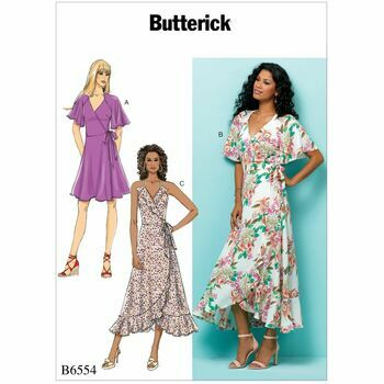 Butterick pattern B6554