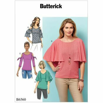 Butterick pattern B6560