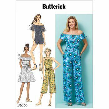 Butterick pattern B6566