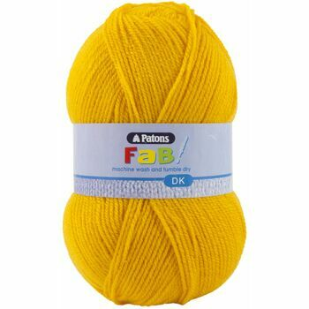 Patons Fab Double Knitting Yarn (100g) - Canary