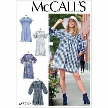 McCalls pattern M7742