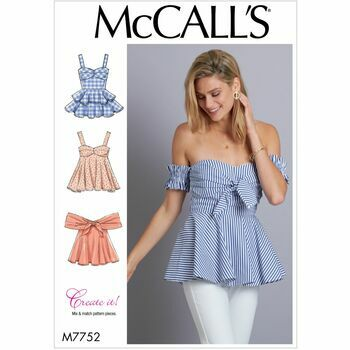 McCalls pattern M7752