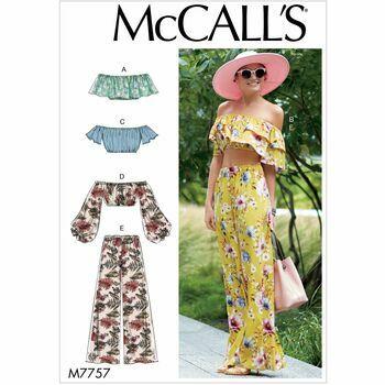 McCalls pattern M7757