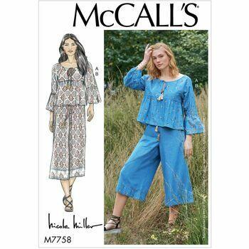 McCalls pattern M7758
