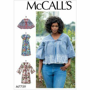 McCalls pattern M7759