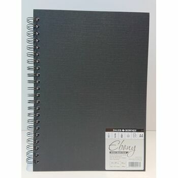Daler Rowney: Ebony Artists Sketch Book: A4: Spiral