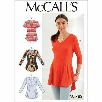 McCalls pattern M7782