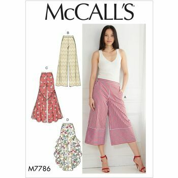 McCall's Pattern M7786: Misses' Pants