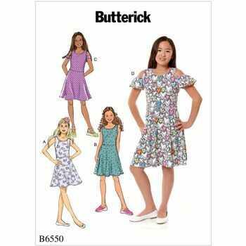 Butterick pattern B6550