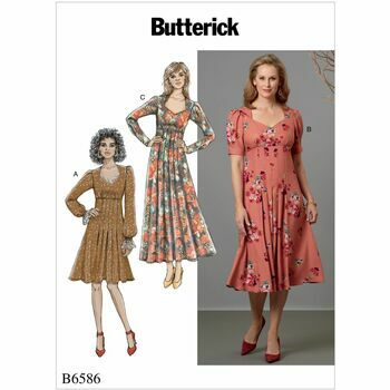 Butterick pattern B6586