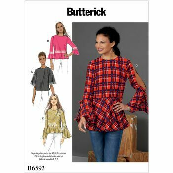 Butterick pattern B6592