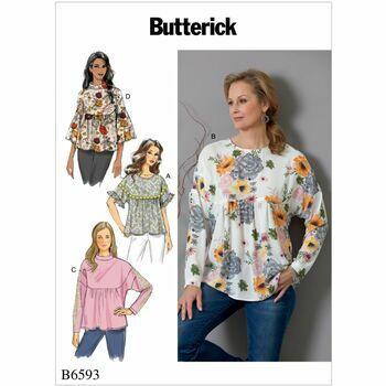 Butterick pattern B6593
