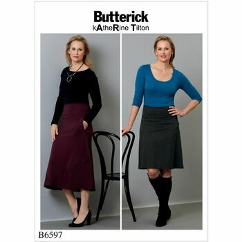 Butterick pattern B6597
