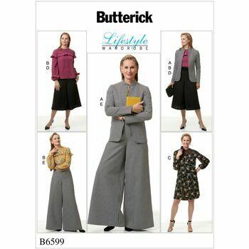 Butterick pattern B6599
