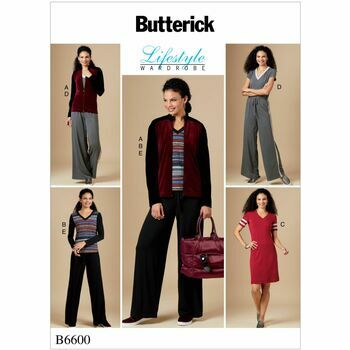 Butterick pattern B6600