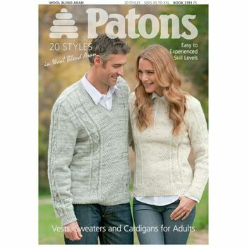 Patons Pattern Book: Vests, Sweaters & Cardigans
