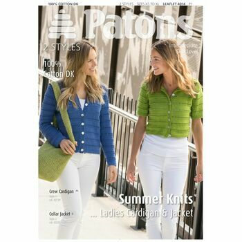 Patons Pattern: Summer Knits Ladies Cardigan and Jacket