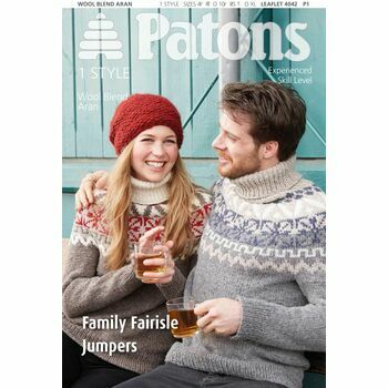 Patons Pattern: Family Fair Isle Jumpers