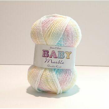 James C Brett Baby Marble DK Yarn - BM2 (100g)
