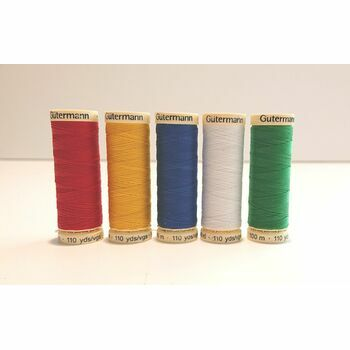 Sew-All Thread: 100m: Bright Colours: Pack of 5