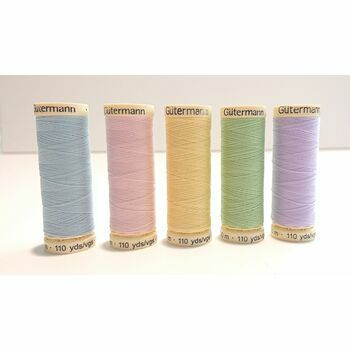 Sew-All Thread: 100m: Pastel Colours: Pack of 5